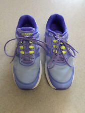 """New Balance """"1865 v1"""" purple and blue running shoes. Women's 8 B (eur 39)"""