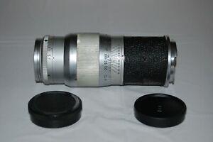 Ernst Leitz Wetzlar Hektor 135 mm Telephoto Lens. Leica M-Mount. Caps. UK Sale
