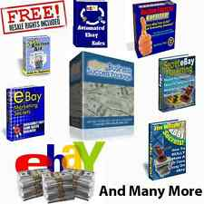 Ebay business success & Many Others - Comes with Master Resale Rights