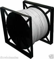 RG-59 CCTV Siamese Cable 18/2AWG Wire 500 ft
