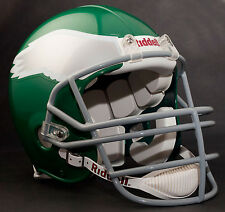 RANDALL CUNNINGHAM PHILADELPHIA EAGLES Schutt JOP Football Helmet FACEMASK- GRAY