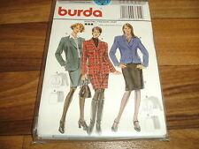 BURDA Schnittmuster 3621            2x  KOSTÜM / im Stil der 1960er        34-44