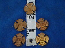 VINTAGE NEW YORK CITY FIRE DEPARTMENT NYCFD  BRASS   CENTER BADGE BLANKS BXD165
