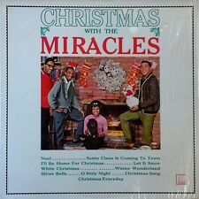 MIRACLES - CHRISTMAS WITH THE MIRACLES - MOTOWN LP - REISSUE - IN SHRINK WRAP