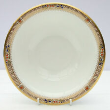 Vintage Minton Caliph Fine Bone China White Gold Cereal Bowl Dish
