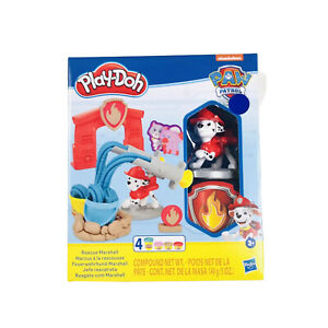 Play Doh PAW Patrol Rescue Marshall Figure and Tool Set with 4 Non-Toxic Colors