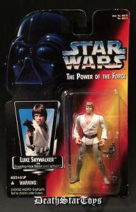 Star Wars POTF2 Luke Skywalker Tatooine Long Saber Lightsaber Variant Farm Boy