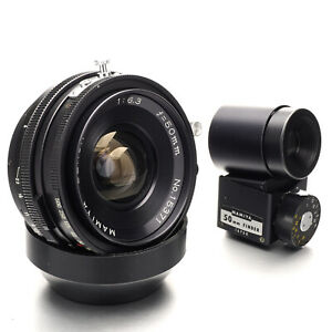 Mamiya 50mm F/6.3 Sekor Lens w/Finder for Universal Press