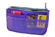 Removable Large Purse Organizer in Purple - Fits Miche Demi or Prima Bags