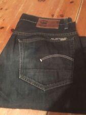 Indigo, Dark wash G-Star Regular Size 30L Jeans for Men