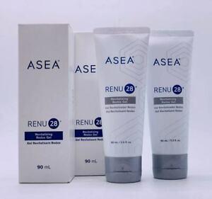 ASEA RENU28 Revitalizing Gel 90mlx2 New in Box Anti-aging
