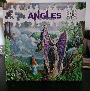 Magic Evening - New Fangled Angles Jigsaw Puzzle 500+ Pc. NEW