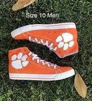 Row One Clemson Tigers Orange Rival Shoes| Sz 10 Men