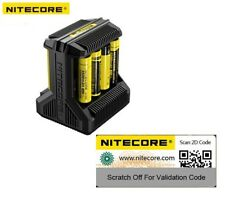 Nitecore i8 LED Battery charger ( AA / AAA / C / D / 18650 / 26650 ) US UK AU EU