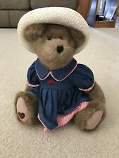 """Boyds Bear """"Pamela P. Patchbeary"""" #912017 with tags, 16"""" tall  - Retired"""