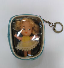 Vintage Goldfarb Doll in case with Key Chain