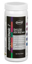 AQUACHEK Silver 7 WAY TEST STRIPS SILVER 7 / 1 POOL SPA 100 CT 551236