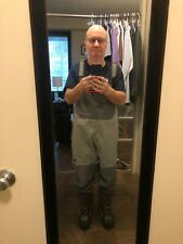 Simms Waders with Korker Boots (NEVER USED)!
