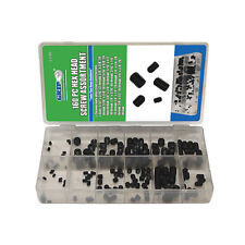 GRIP 160pc Hex Head Screw Assortment Steel Screws Kit Various Sizes Set 43150