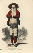 16 Homme Du Faou Anciens Costumes Bretons French France Folklore Fashion