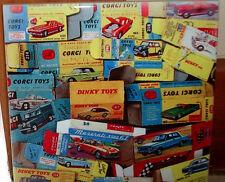 DINKY TOYS CORGI TOYS 60's 70's die cast Scale models tribute CERAMIC  TILE