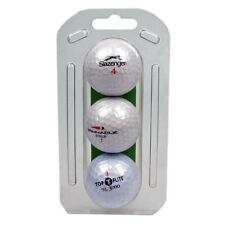Golf Balls Lake White Sporting Assorted Mixed Branded Recycled Golfing 3 Pack