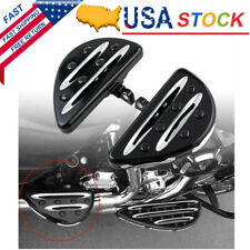 CNC Rear Passenger Floorboards Footrest Foot Pegs Pedal For Harley Touring Dyna