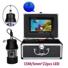 """7"""" TFT Color Monitor 360° rotate Underwater Fishing Video Camera fish finder"""