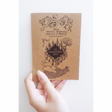 Marauder's Marauders Map Harry Potter Mischief Managed occasions Birthday Card