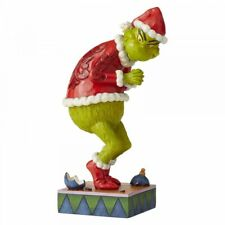 Jim Shore Dr Seuss 6006566 Sneaky Grinch Figurine