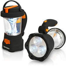 4 in 1 Dynamo Camping Leuchte 3 LED Taschenlampe 10 LED Laterne Zelt Handlampe