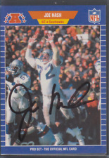 Autographed 1989 Pro Set Joe Nash - Seahawks