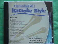 Christian Rock ~ Christian Daywind Karaoke Style ~~ Tears of the Saints ~~ CD+G