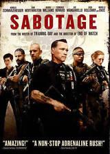 Sabotage New DVD! Ships Fast!