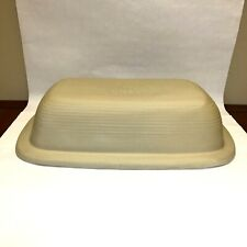 New listing Pampered Chef Family Heritage Stoneware Large Roaster Lid Only Clean Condition