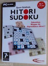 HITORI SUDOKU - jeu PC