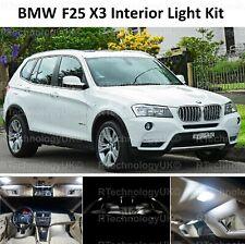 PREMIUM BMW X3 F25 2010 - 2018 INTERIOR LED LIGHT BULK KIT WHITE UPGRADE