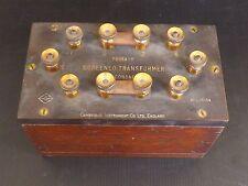 Transformateur, Cambridge Instrument Co. England. Screened Transformer. XIXe