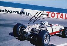 John Surtees Hand Signed Honda Racing F1 12x8 Photo 1.