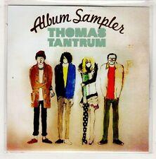 (HB893) Thomas Tantrum, Album Sampler - 2011 DJ CD