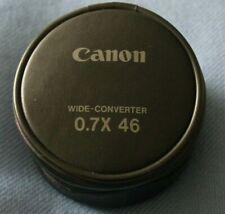 30.5 mm 0.45X Lente Gran Angular con Macro Para JVC Camcorder GZ-MG630 Canon ZR960