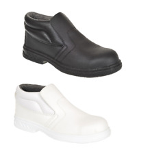 Portwest FW83 Steelite Slip On Fuel Oil Water Resistant Safety Shoe Work Boot S2