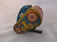 Marx #5 flip over, rollover Tank Wind Up toy Works Army tin litho. Nice piece.
