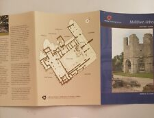 MELLIFONT ABBEY County Louth Ireland  Souvenir Travel Visitor Guide Book Leaflet
