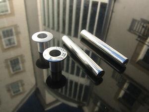 INTERIOR MG MGF MGTF TF ALLOY ALUMINIUM DOOR PINS & COLLAR - Brushed or Polished