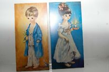2 tableaux reproduction vintage dallas simpson      occasion