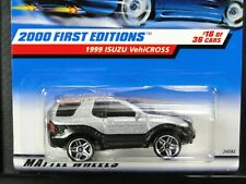 1999 Isuzu VehiCross, Hot Wheels 1999 First Editions 16/36, Silver, Pr5 wheels