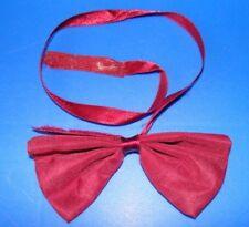 Maroon children's bow tie, Velcro fastening