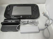 Genuine Nintendo Wii U Black Gamepad (w/ LCD Touchscreen) - WUP-010(USA) - UDAC