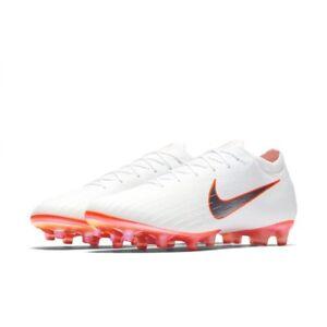 Nike Vapor 12 Elite AG Pro UK 6 (EUR 40) White Total Orange AH7379 107